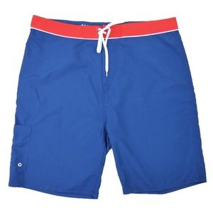 """New Old Navy 10.5"""" Board Shorts Quick Dry Mens 44"""